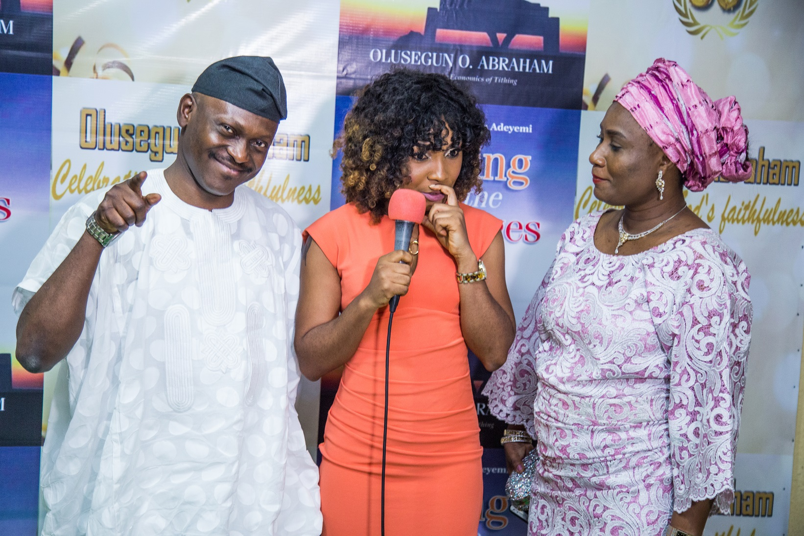 Pastor Femi & Nike Adekunle at the 50th birthday